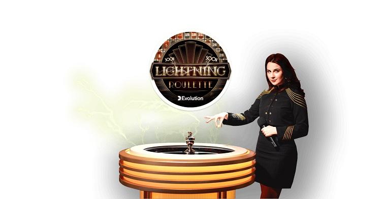 Paf Casino loosib Lightning Roulette's 100€ pärisraha